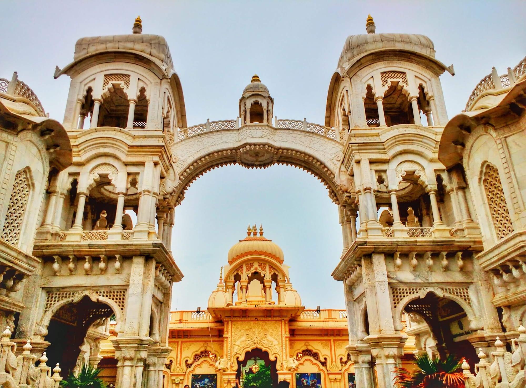 vrindavan temples in India